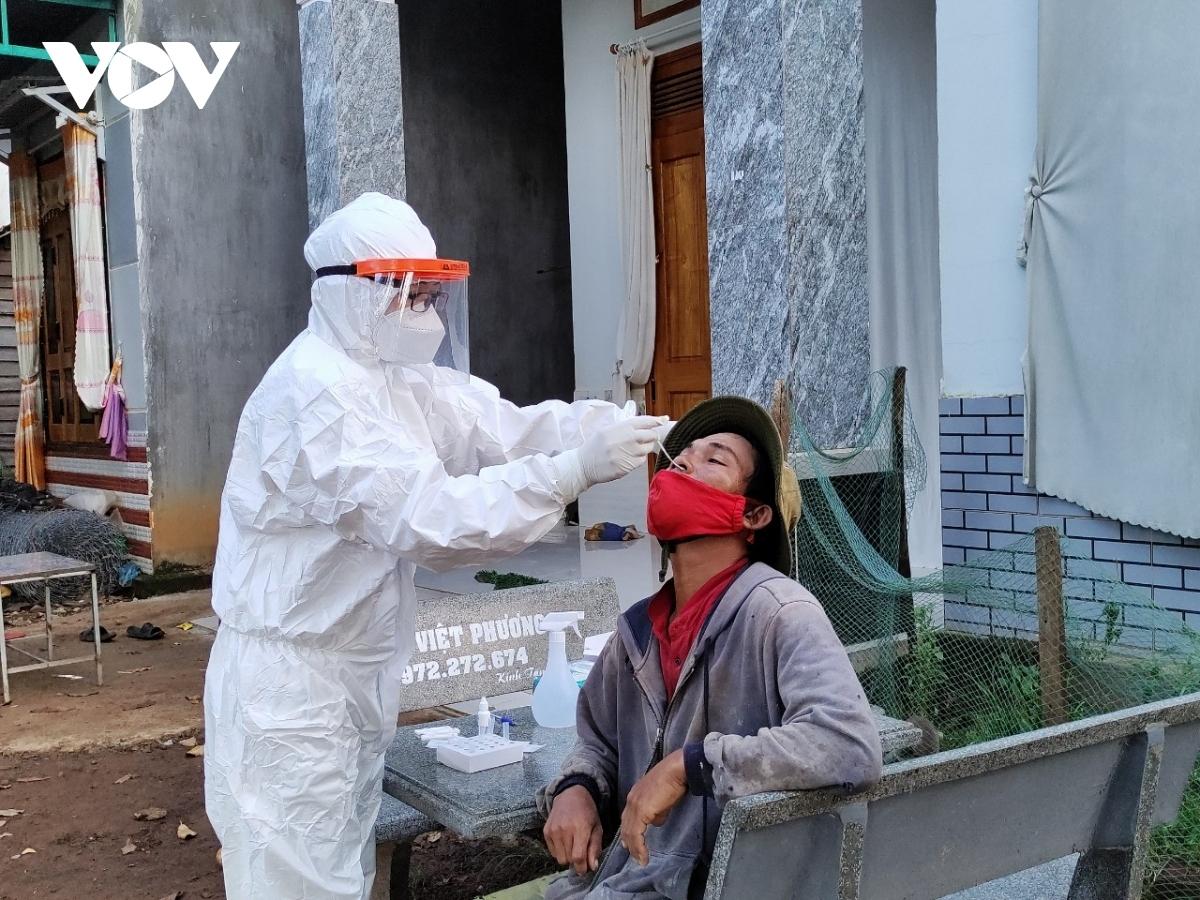 Công tác truy vết các trường hợp F1, F2 đang được ngành y tế Đắk Lắk tích cực triển khai.