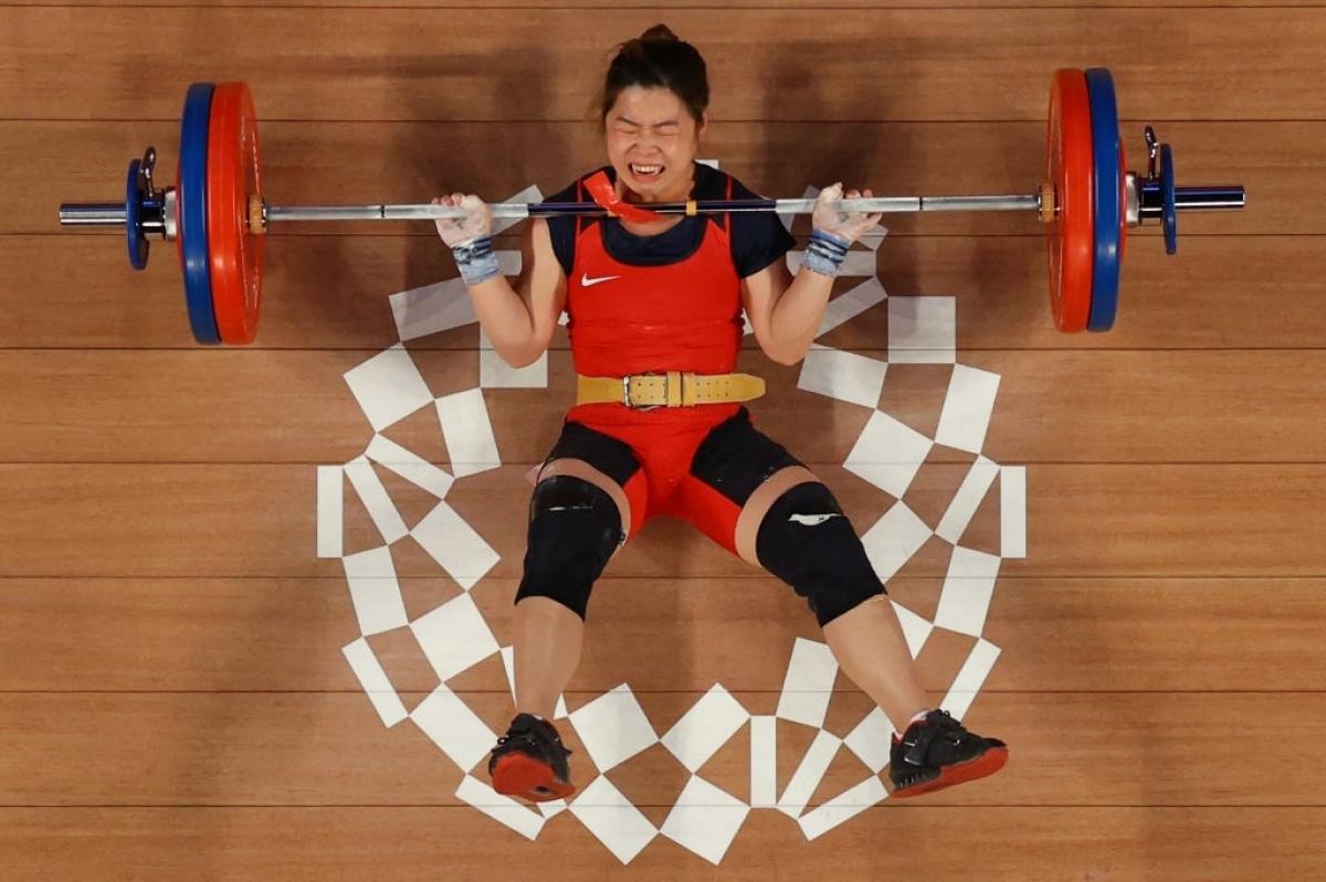 Hoàng Thị Duyên đã thi đấu rất cố gắng ở Olympic Tokyo 2020 (Ảnh: Getty).