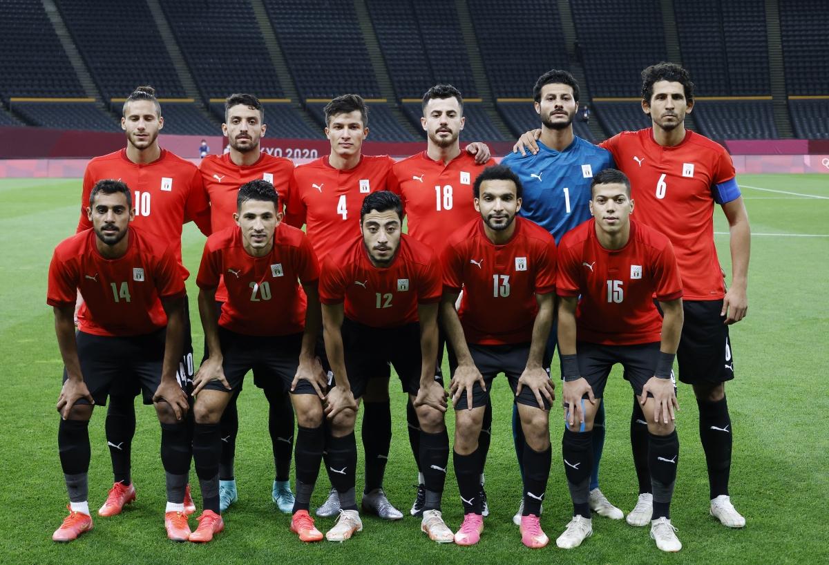 Đội hình đội Ai Cập. (Ảnh: Reuters).