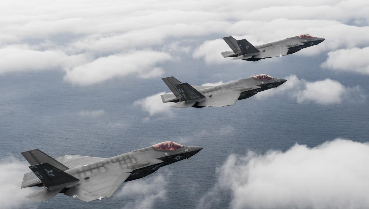 Chiến đấu cơ F-35C sẽ là máy bay thế hệ 5 đầu tiên hoạt động trên tàu sân bay Mỹ. Ảnh: Hải quân Mỹ.