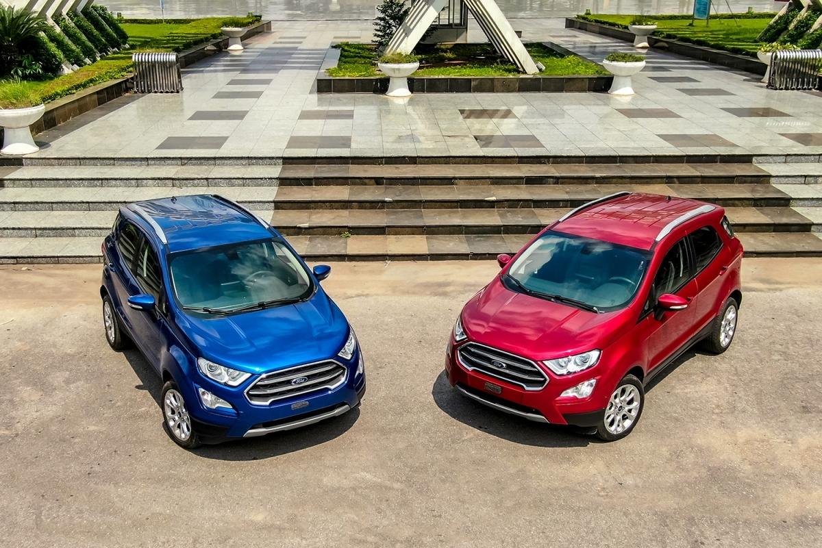 Ford EcoSport giảm giá 50 triệu đồng.