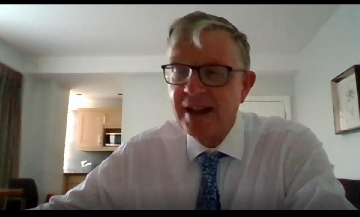 Malcolm Evans, British Professor of Public International Law at Bristol University addresses the event