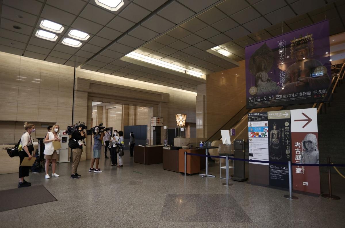 Các tour du lịch trong Olympic 2020 được tổ chức riêng cho giới truyền thông. Nguồn: Reuters/Molly Darlington
