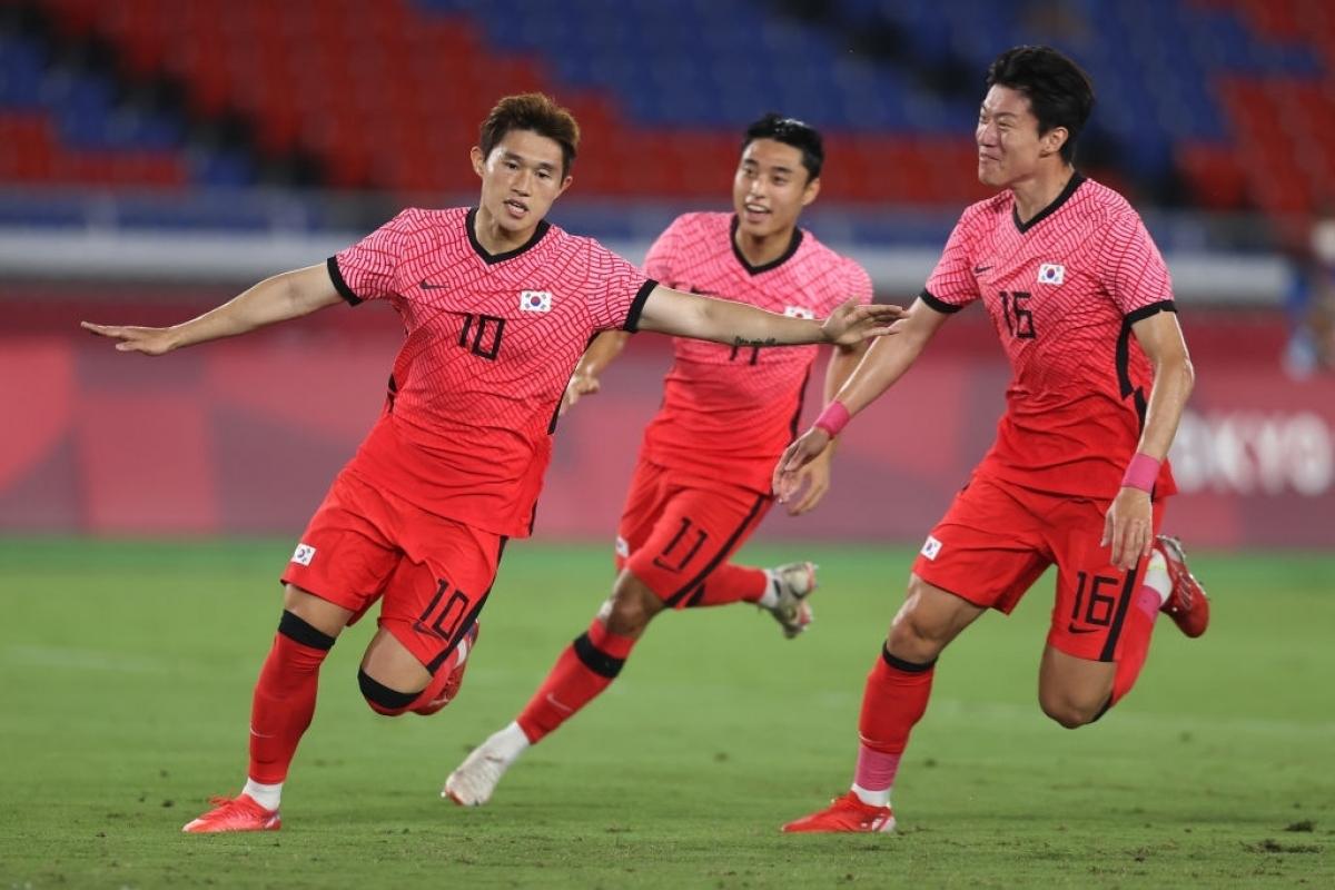 Hàn Quốc đưa trận đấu trở về vạch xuất phát. (Ảnh: Getty)