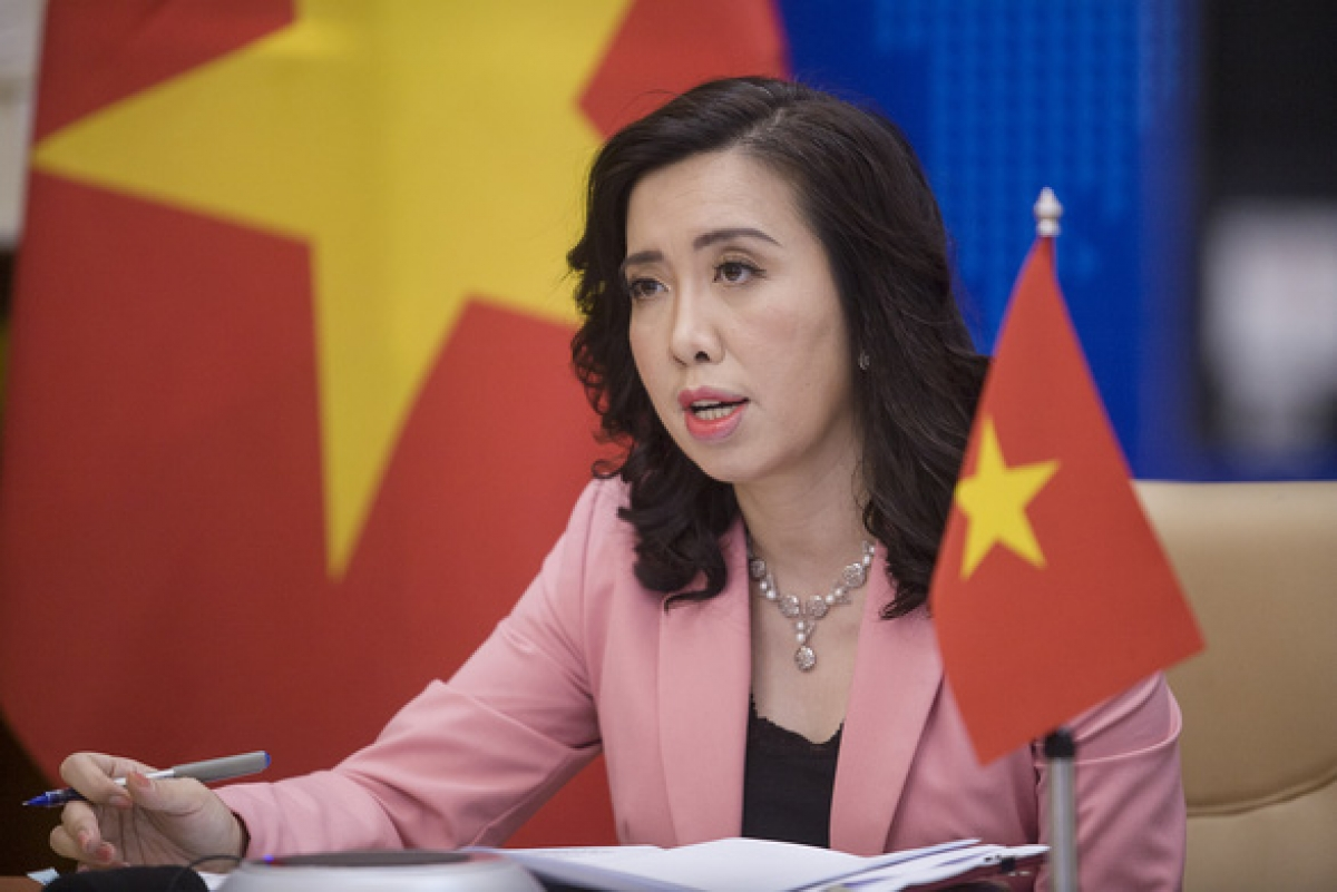 Spokesperson of the Vietnamese Foreign MinistryLe Thi Thu Hang