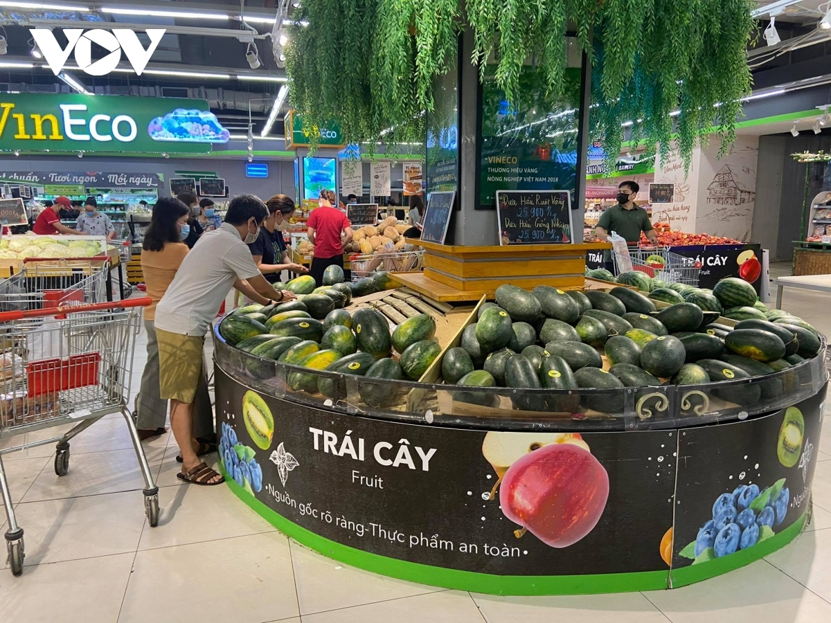 Hanoi applies two-week social distancing rules, starting on July 24. However, the local administration says essential goods are in sufficient supply at all supermarkets, convenience store, trading centres and other selling points.