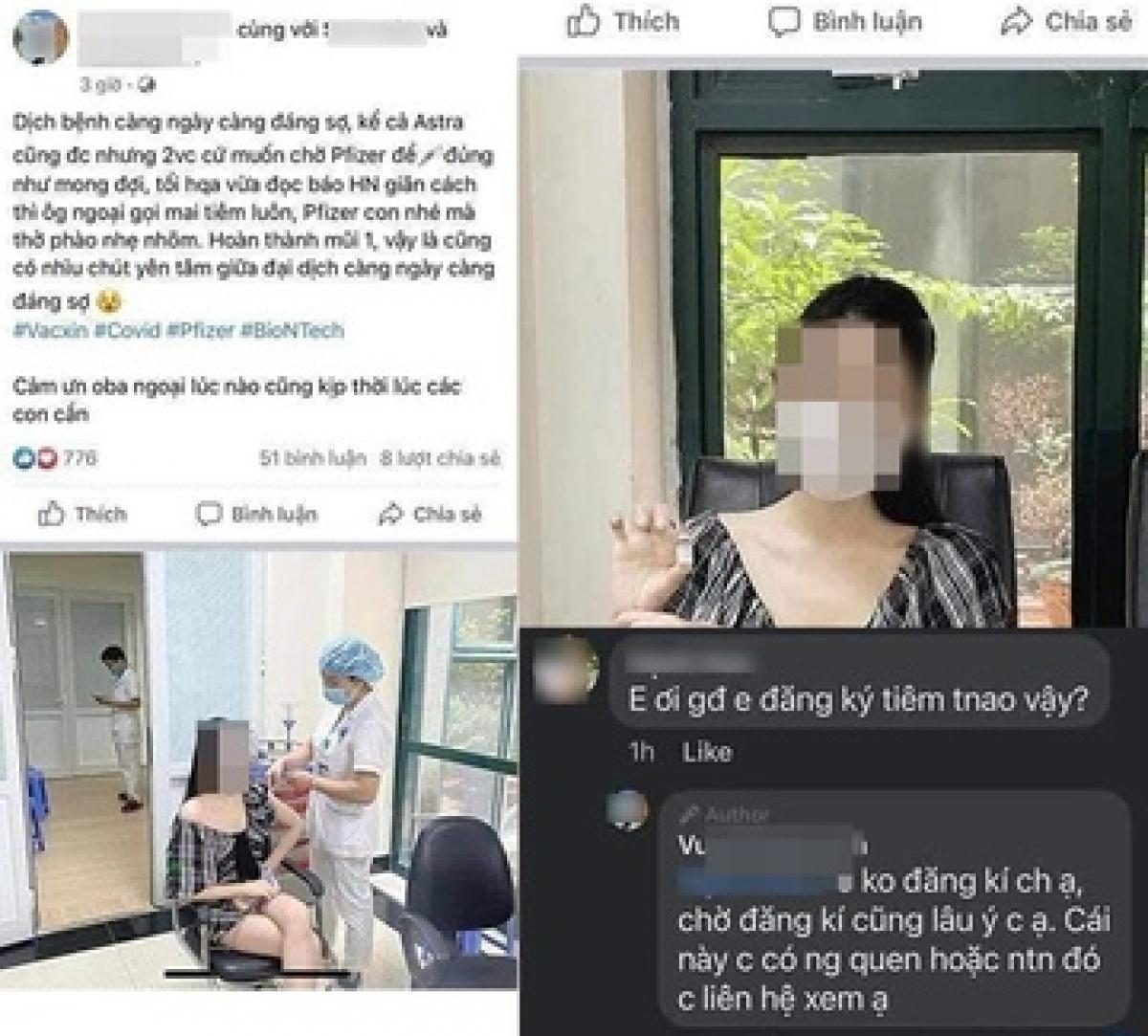 Bài viết của V.P.A. gây bức xúc trên mạng xã hội. Ảnh chụp màn hình.