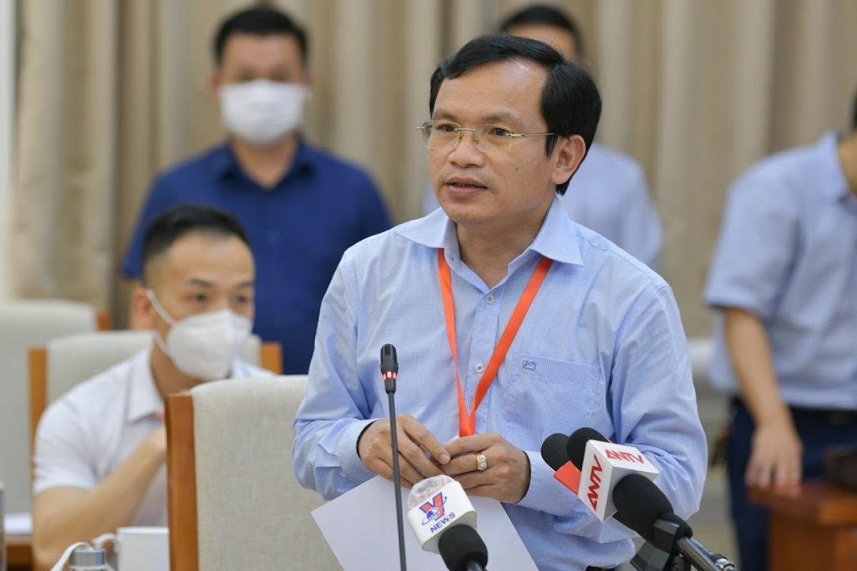 Ông Mai Văn Trinh cho biết đáp án các môn thi sẽ được công bố theo tiến độ chấm thi.