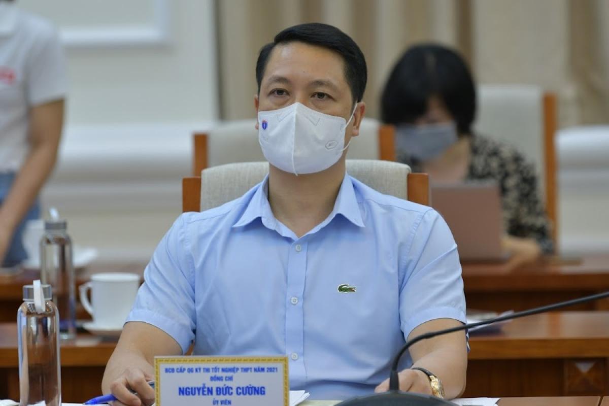 Ông Nguyễn Đức Cường cho biết Bộ GD-ĐT và các Sở GD-ĐT địa phương sẽ có các đoàn thanh, kiểm tra công tác chấm thi.