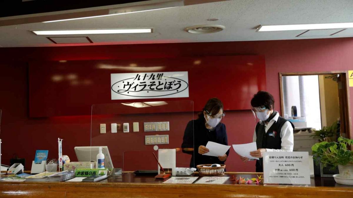 Nhiều khách sạn tại Nhật Bản buộc phải giảm giá phòng để thu hút khách. Nguồn: Reuters