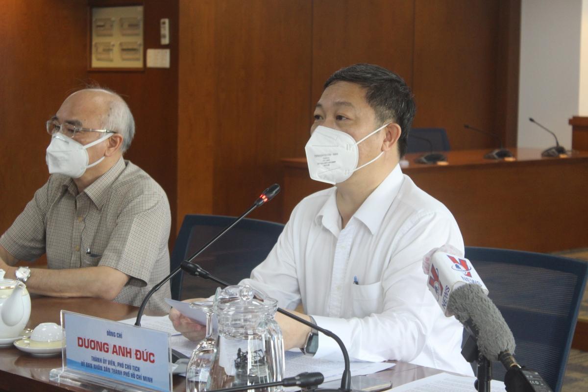 Ông Dương Anh Đức, Phó Chủ tịch UBND TP.HCM