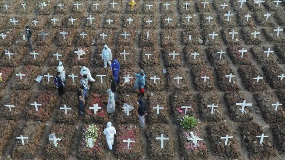 Tỷ lệ tử vong do Covid-19 tại Indonesia cao nhất thế giới (Nguồn: Antara )