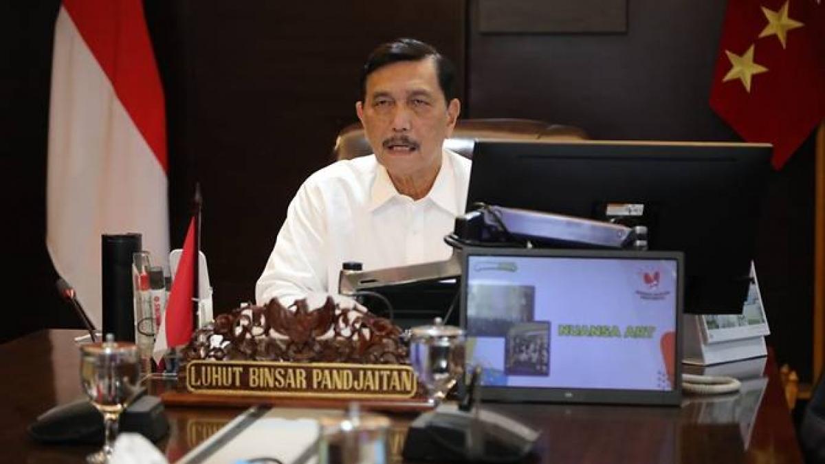 Bộ trưởng Luhut Pandjaitan. Ảnh: CNA