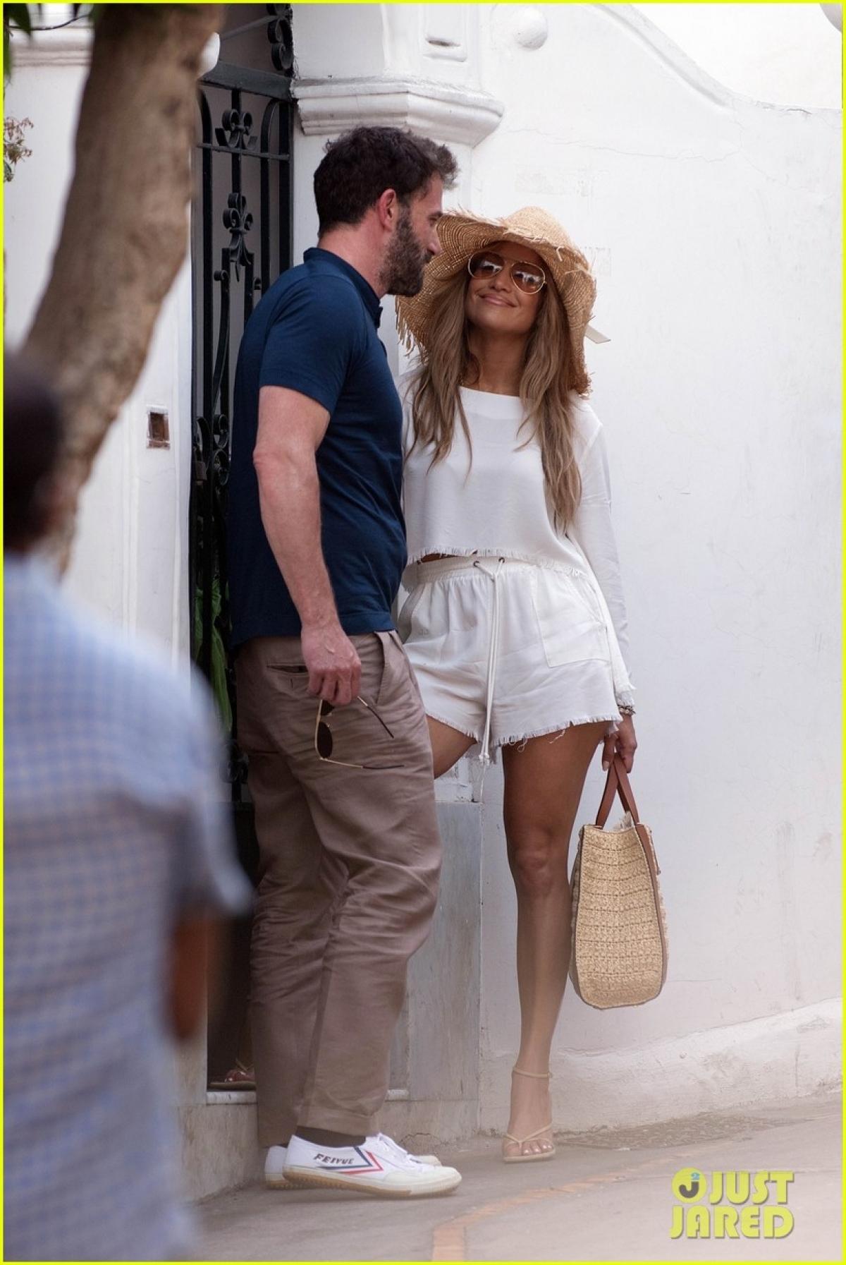Ben Affleck và Jennifer Lopez đang tận hưởng kỳ nghỉ dưỡng thú vị ở Ý.