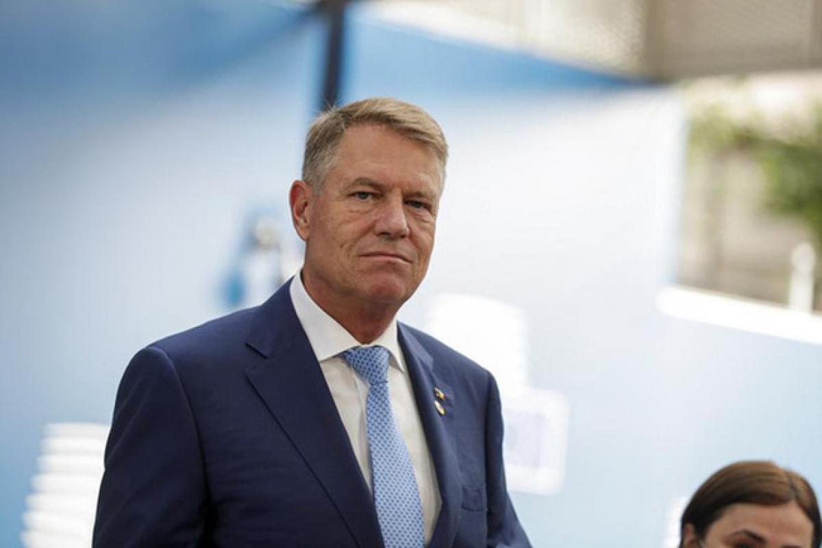 Tổng thống Rumania Klaus Iohannis (Ảnh: Reuters).