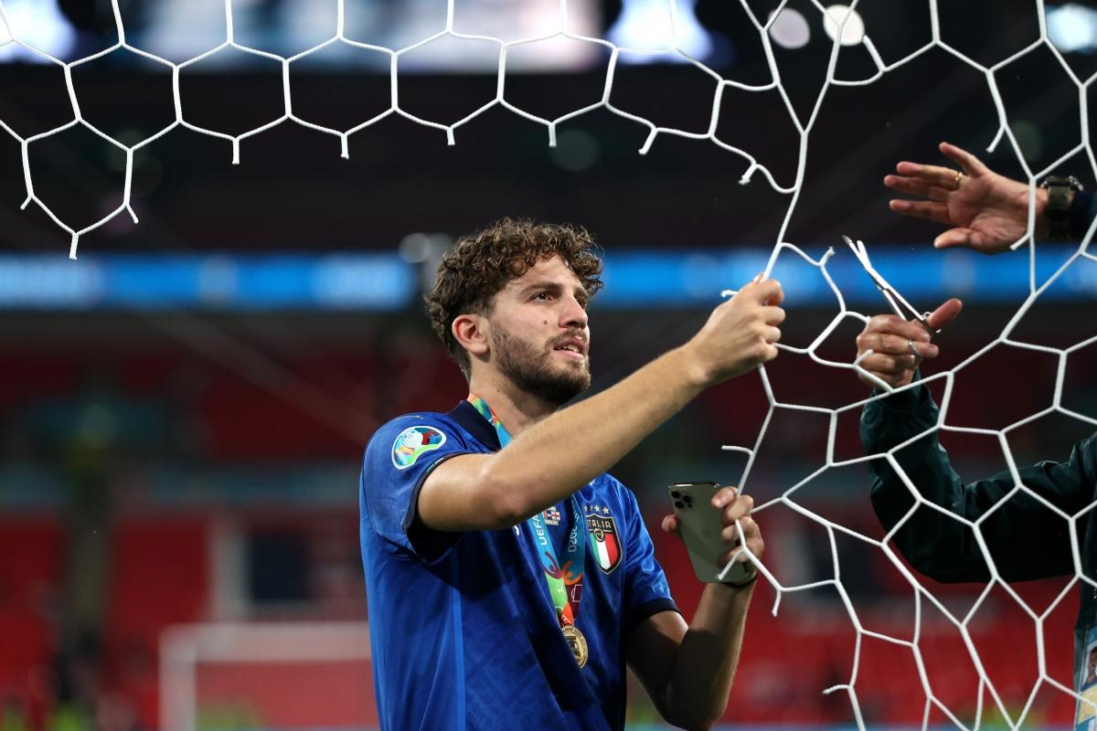 Manuel Locatelli đã có 2 bàn thắng cho Italia trong chiến dịch vô địch EURO 2021 của Azzurri. Anh đang được Arsenal liên hệ./.