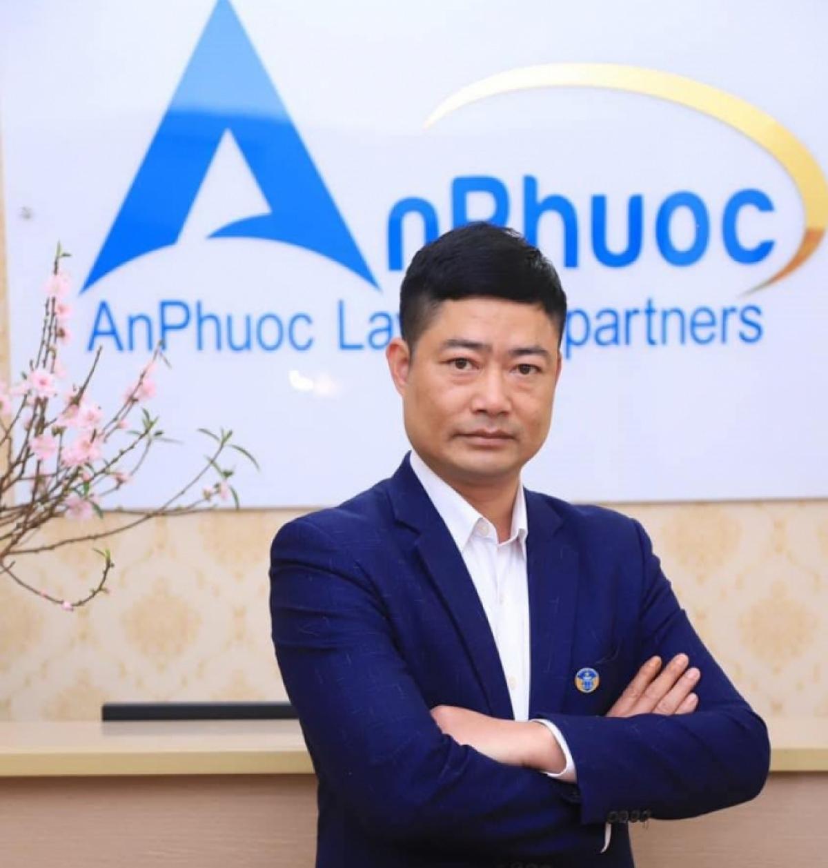 Luật sư Vũ Văn Biên, Giám đốc Công ty Luật TNHH An Phước (Hải Dương)
