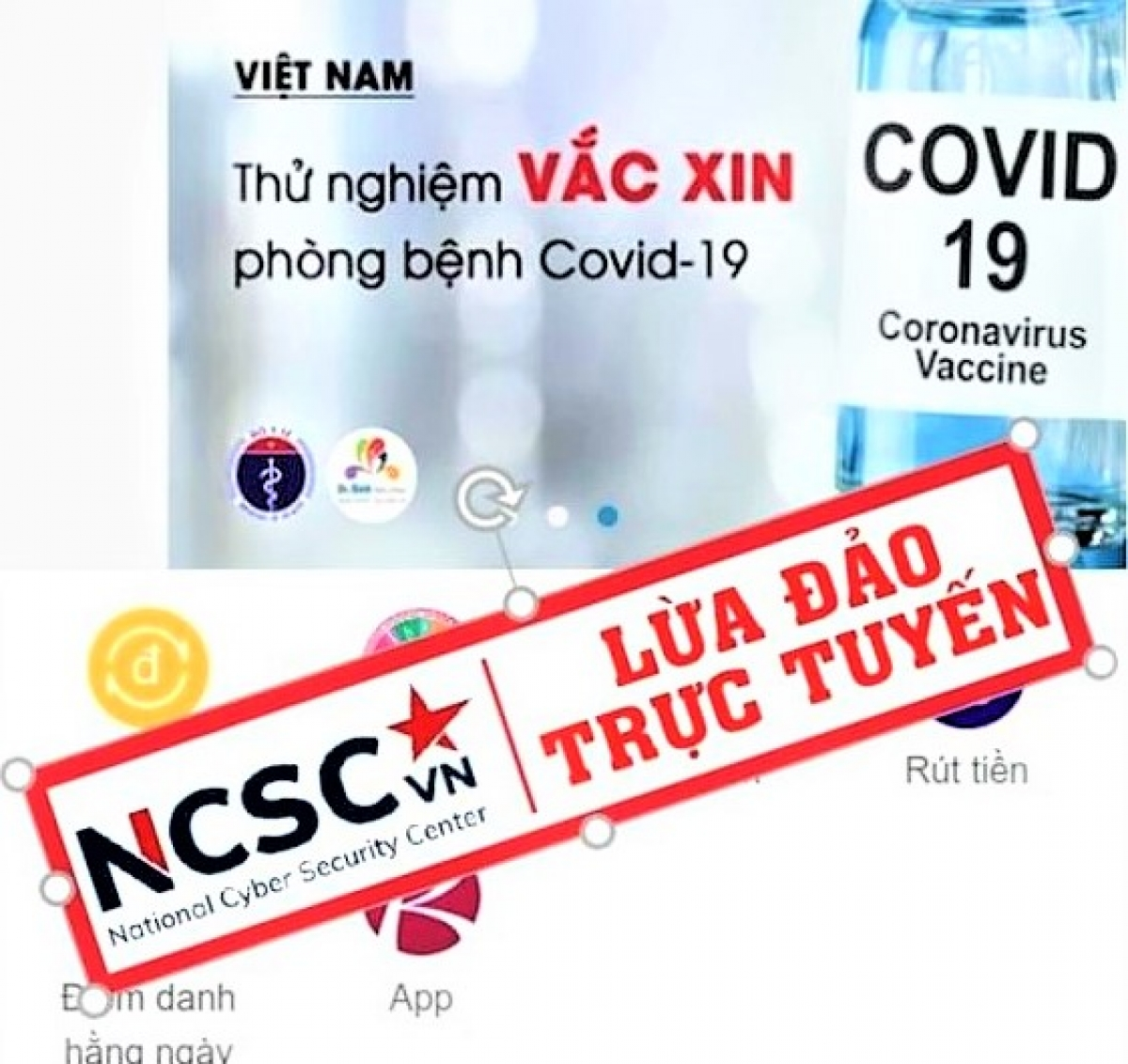 Đối tượng lừa đảo sử dụng mạng xã hội quảng bá các sản phẩm mạo nhận có khả năng phòng ngừa virus như vaccine để lừa nạn nhân
