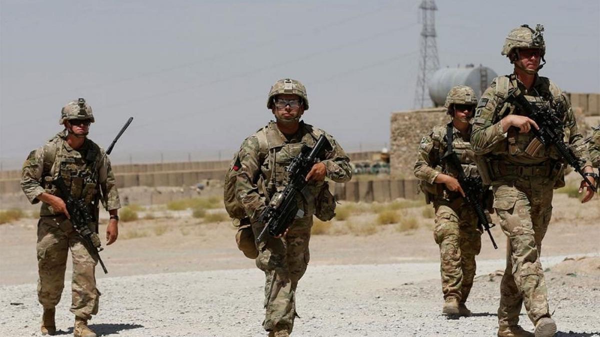 Binh sĩ Mỹ tuần tra tại Afghanistan. Ảnh: Reuters