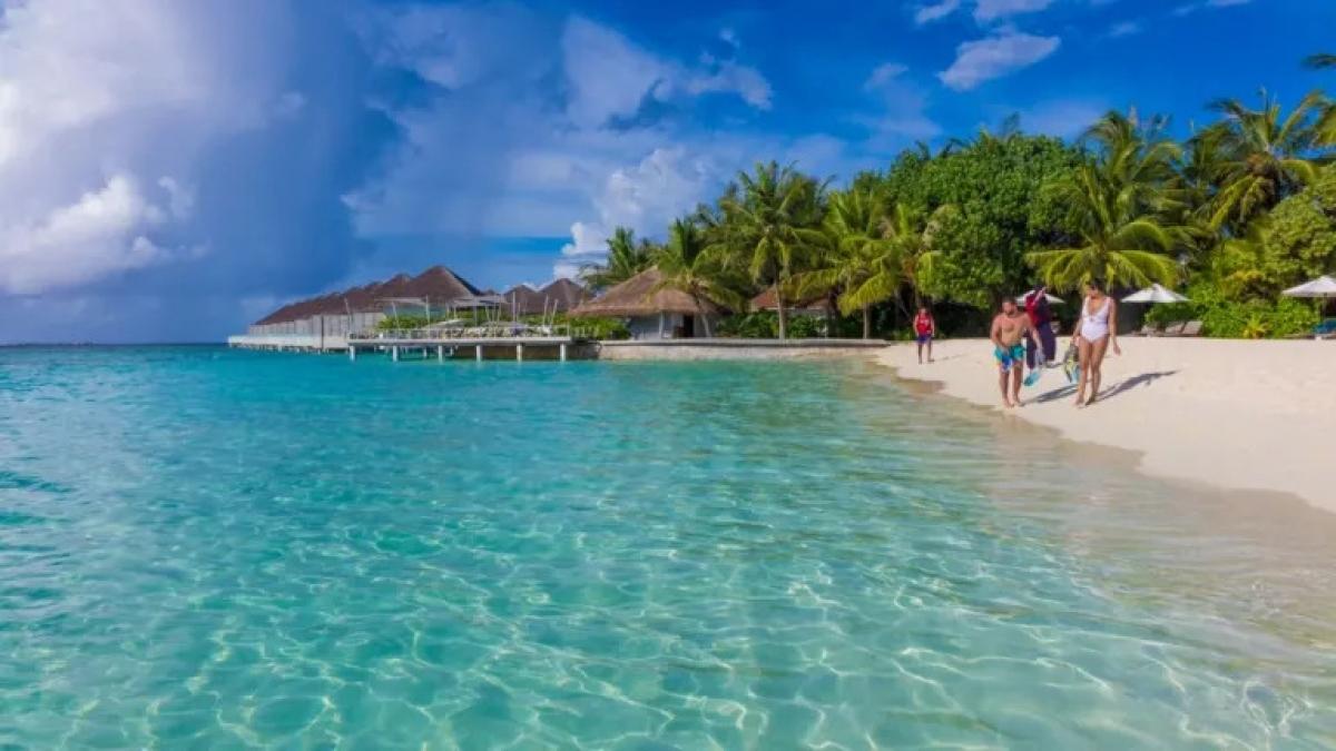 Du lịch là nguồn thu ngoại tệ chính của Maldives. Nguồn: Getty