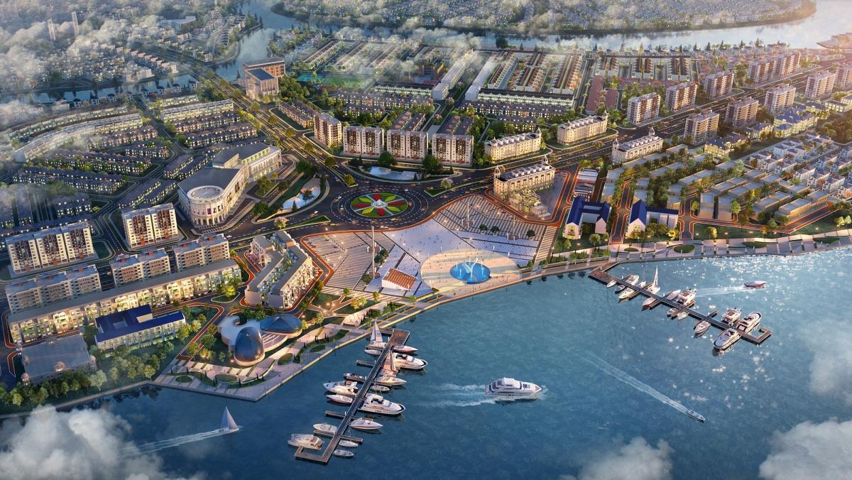 Tổ hợp Quảng trường – Bến du thuyền Aqua Marina đẳng cấp dự kiến ra mắt cuối tháng 7 này.