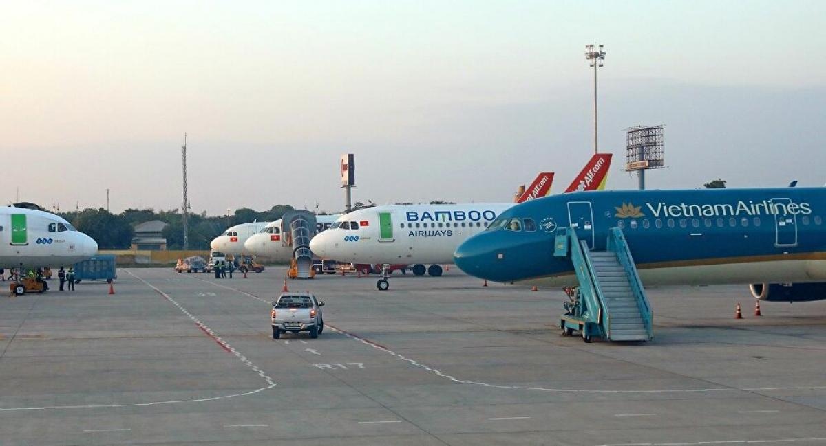 Cục Hàng không Việt Nam đã ra thông báo dừng hoạt động vận chuyển hành khách thường lệ giữa các địa phương đang thực hiện giãn cách theo Chỉ thị 16 của Thủ tướng Chính phủ.