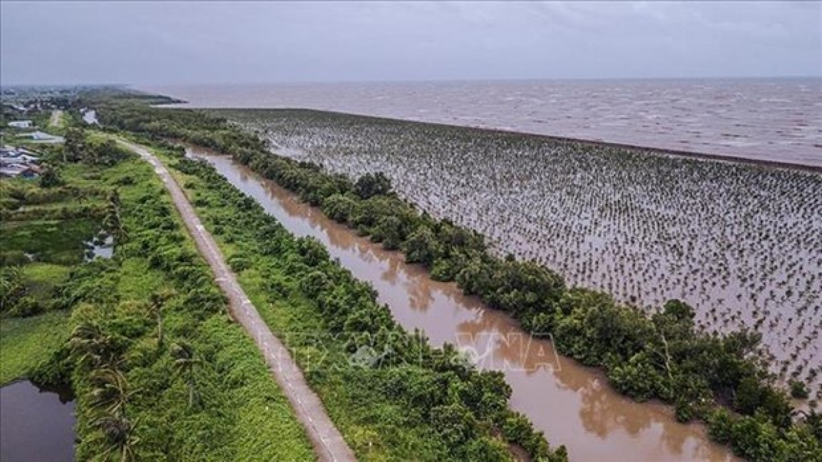 Erosion is a threat to the Mekong Delta.