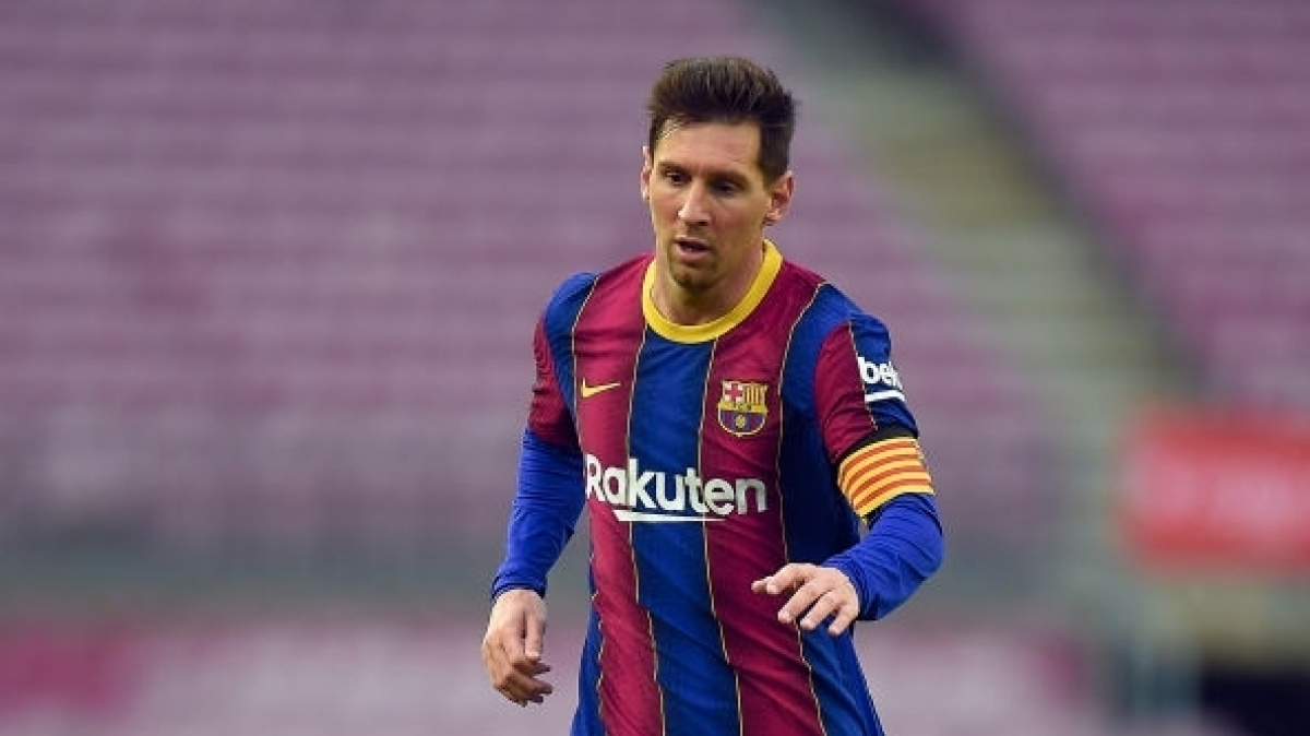 Messi chuẩn bị ký hợp đồng với Barca (Ảnh: Getty).