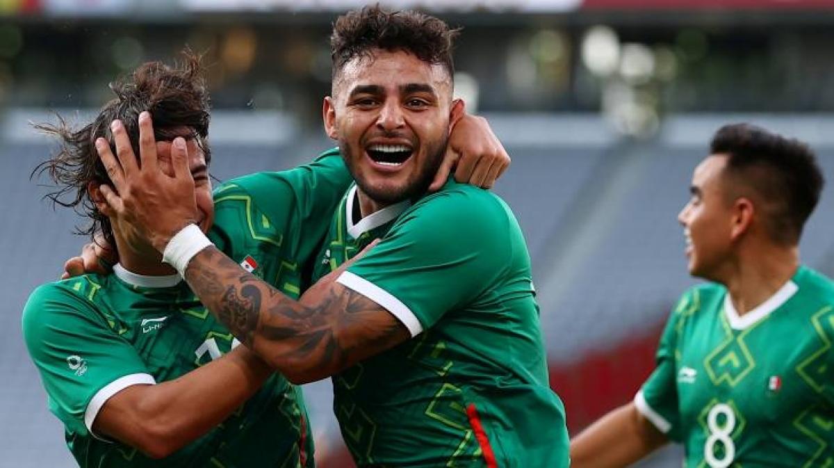 Mexico vùi dập Pháp 4-1 ở trận ra quân Olympic Tokyo. (Ảnh: Getty)