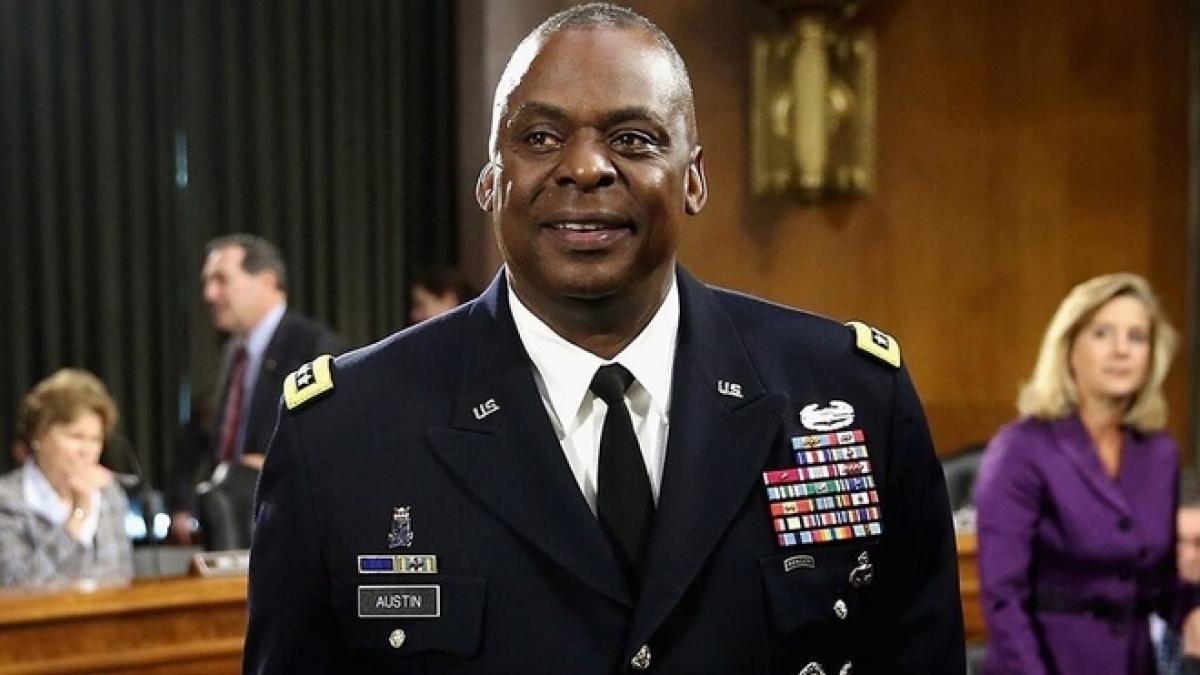 Bộ trưởng Quốc phòng Mỹ Lloyd Austin. Ảnh: Getty