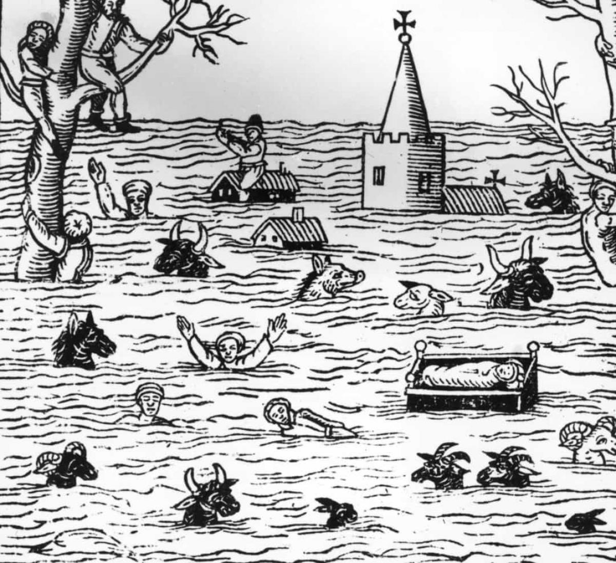 Trận lũ lụt ở kênh Bristol năm 1607. Năm 1607, một trận sóng thần đã ập vào thị trấn Burnham-on-Sea và kênh Bristol của Anh. Đây là một trong những thảm họa thiên nhiên tồi tệ nhất của Anh khi đã khiến 2.000 người thiệt mạng.