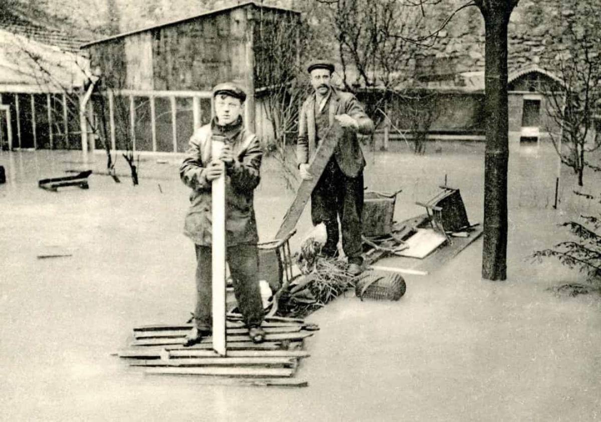 Trận lụt ở Paris năm 1910. Khi sông Seine vỡ bờ vào ngày 18/1/1910, một nửa thành phố Paris đã bị nhấn chìm. Nước lũ đã dâng cao tới 8,62m. Mặc dù trận lũ lụt kéo dài và gây ra nhiều thiệt hại nhưng không có trường hợp tử vong nào được ghi nhận.