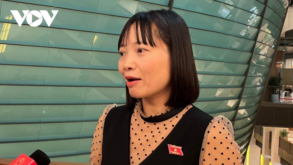 Đại biểu Nguyễn Thị Việt Nga, đoàn Hải Dương