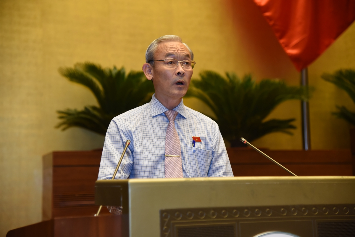 Chủ nhiệm Ủy ban Tài chính ngân sách Nguyễn Phú Cường