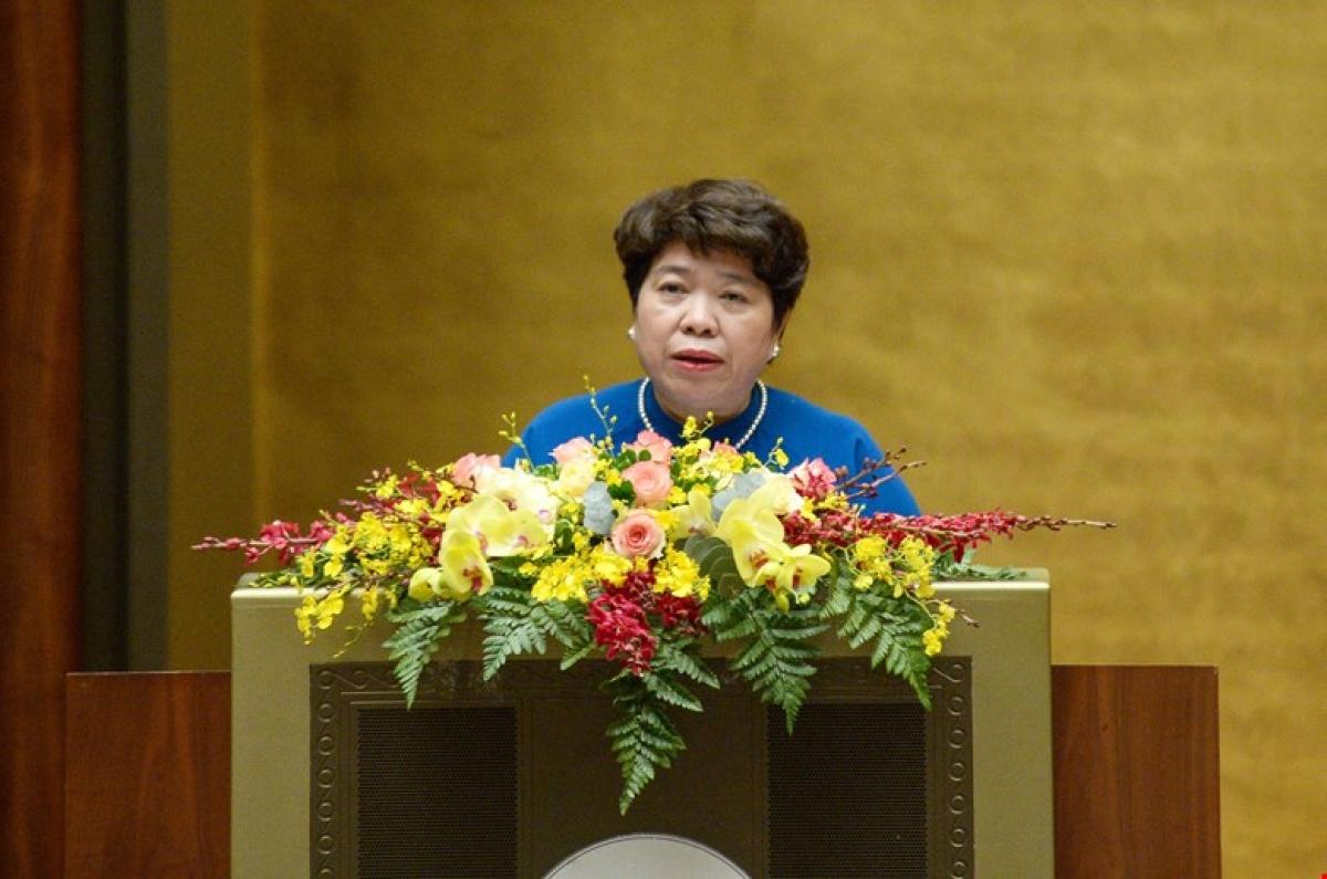 Bà Nguyễn Thuý Anh – Chủ nhiệm Uỷ ban Xã hội của Quốc hội
