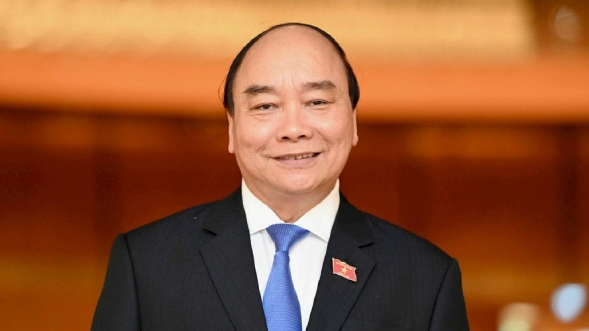 Incumbent State President Nguyen Xuan Phuc