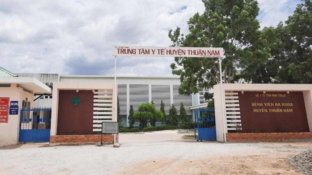 Trung tâm Y tế huyện Thuận Nam - nơi đặt Bệnh viện dã chiến