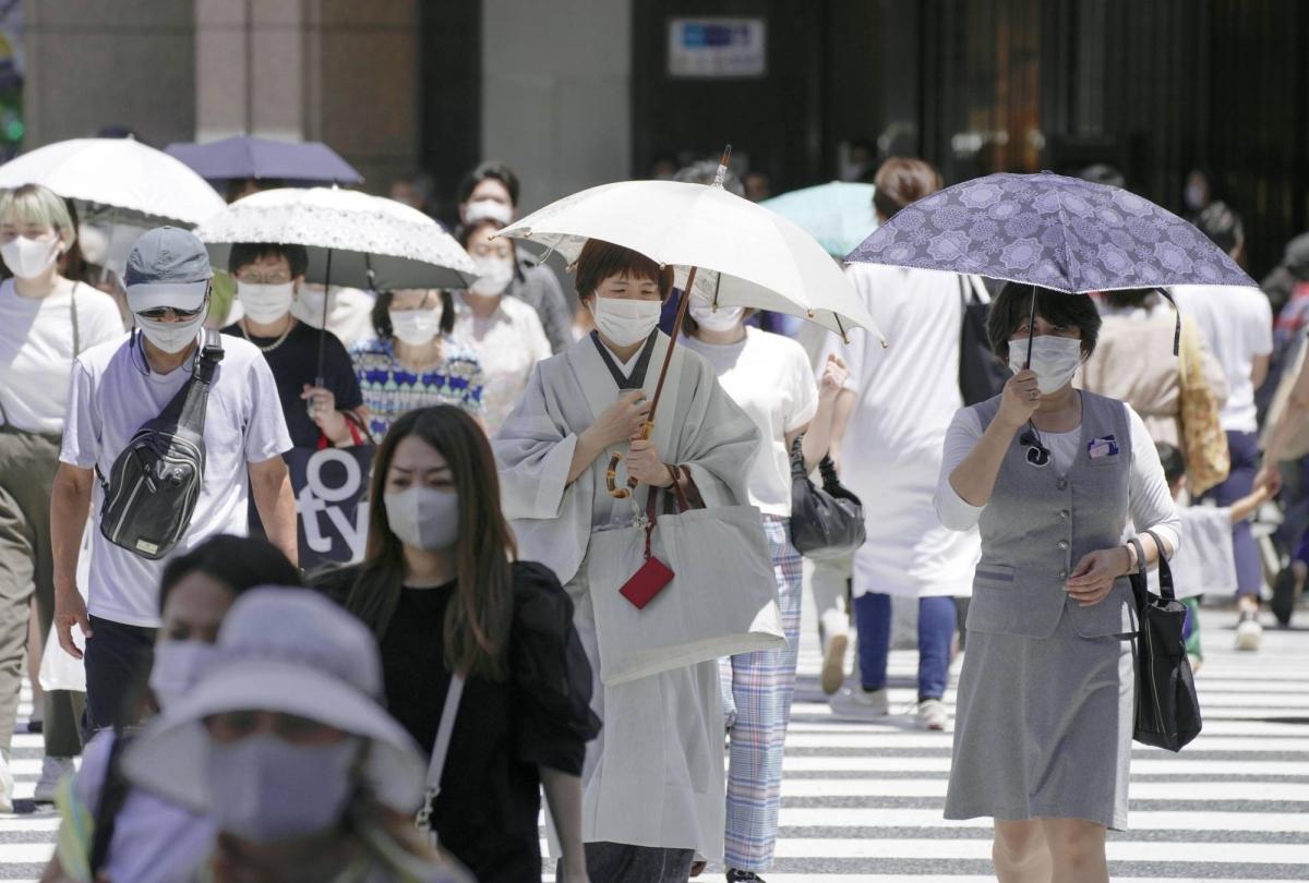 Nhiều ý kiến chuyên gia cho rằng sự kiện Olympic Tokyo 2020 cũng khiến cho số ca nhiễm tại Nhật Bản tăng nhanh. (Ảnh: AP)
