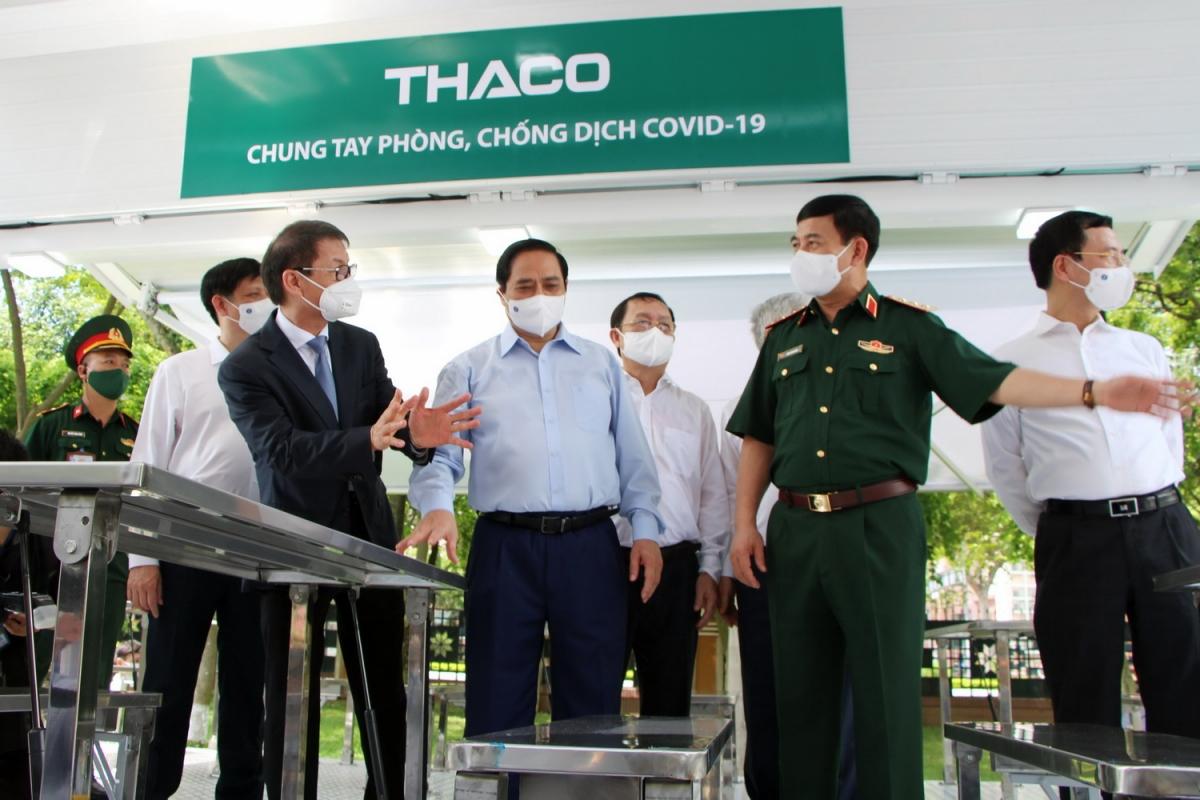 THACO sản xuất và trao tặng 126 xe vận chuyển vaccine