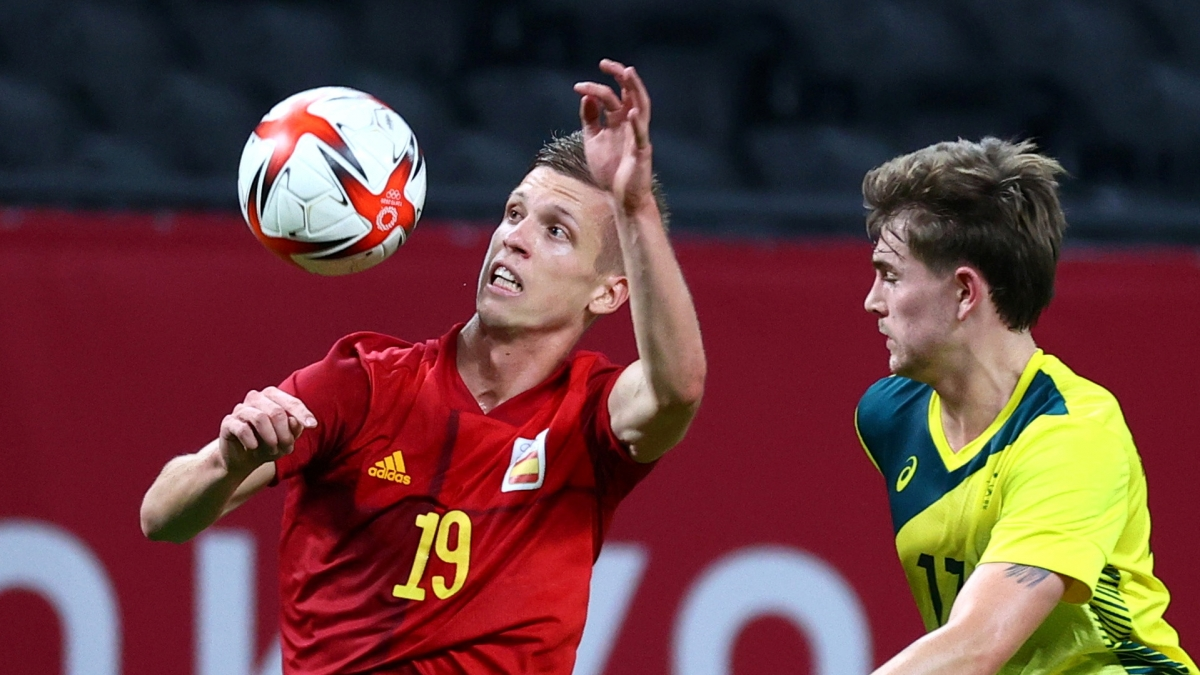 Những cầu thủ dự EURO 2021 như Olmo cũng chưa thể tạo nên sự khác biệt cho Tây Ban Nha. (Ảnh: Reuters).