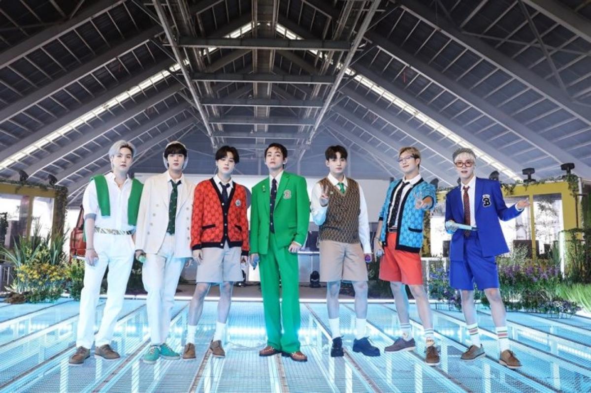 Nhóm nhạc BTS. Nguồn: Big Hit Music