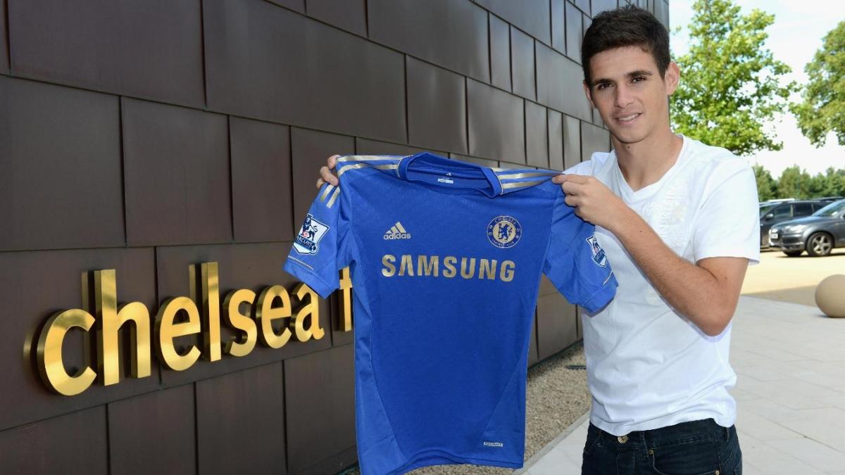 Oscar ra mắt Chelsea ngày này 9 năm trước. (Ảnh: Premier League).