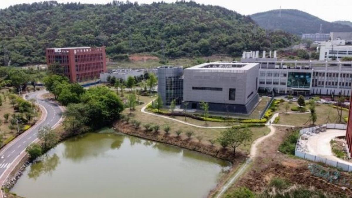 Phòng thí nhiệm P4 thuộc Viện nghiên cứu virus Vũ Hán. Ảnh: BBC