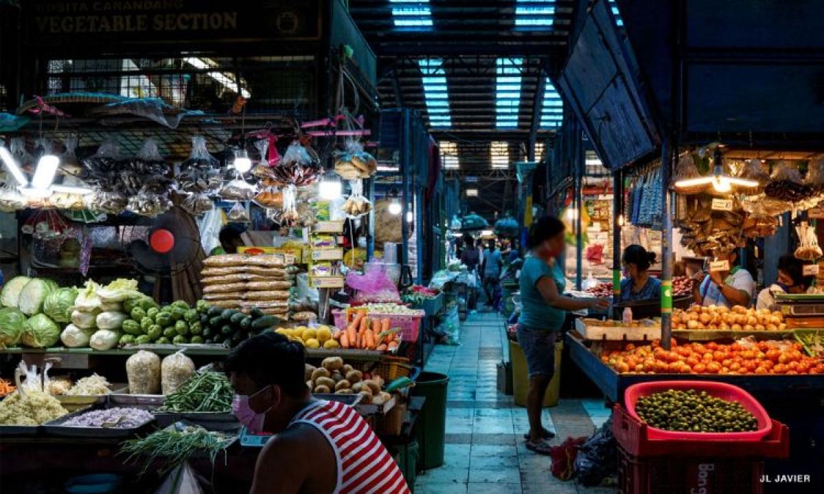 Chợ truyền thống Philippines trong đại dịch. Nguồn: CNN Philippines