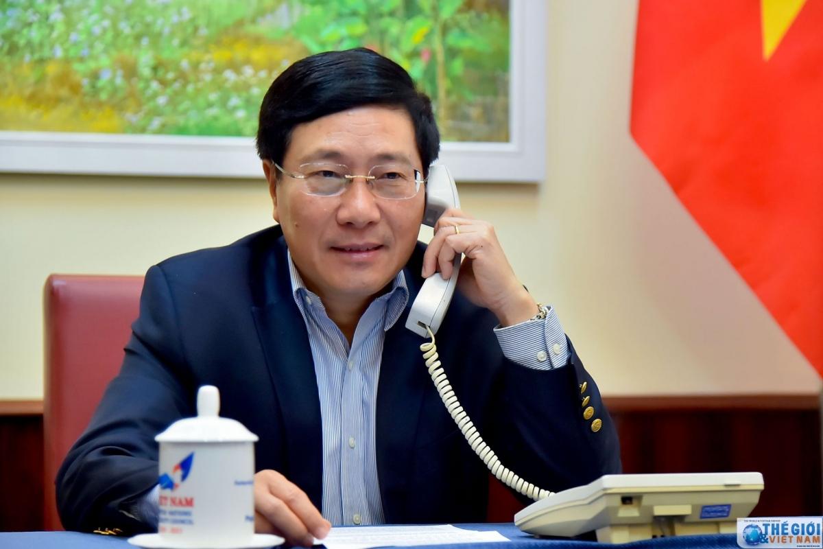 Phó Thủ tướng Phạm Bình Minh. Ảnh: Thế giới & Việt Nam.