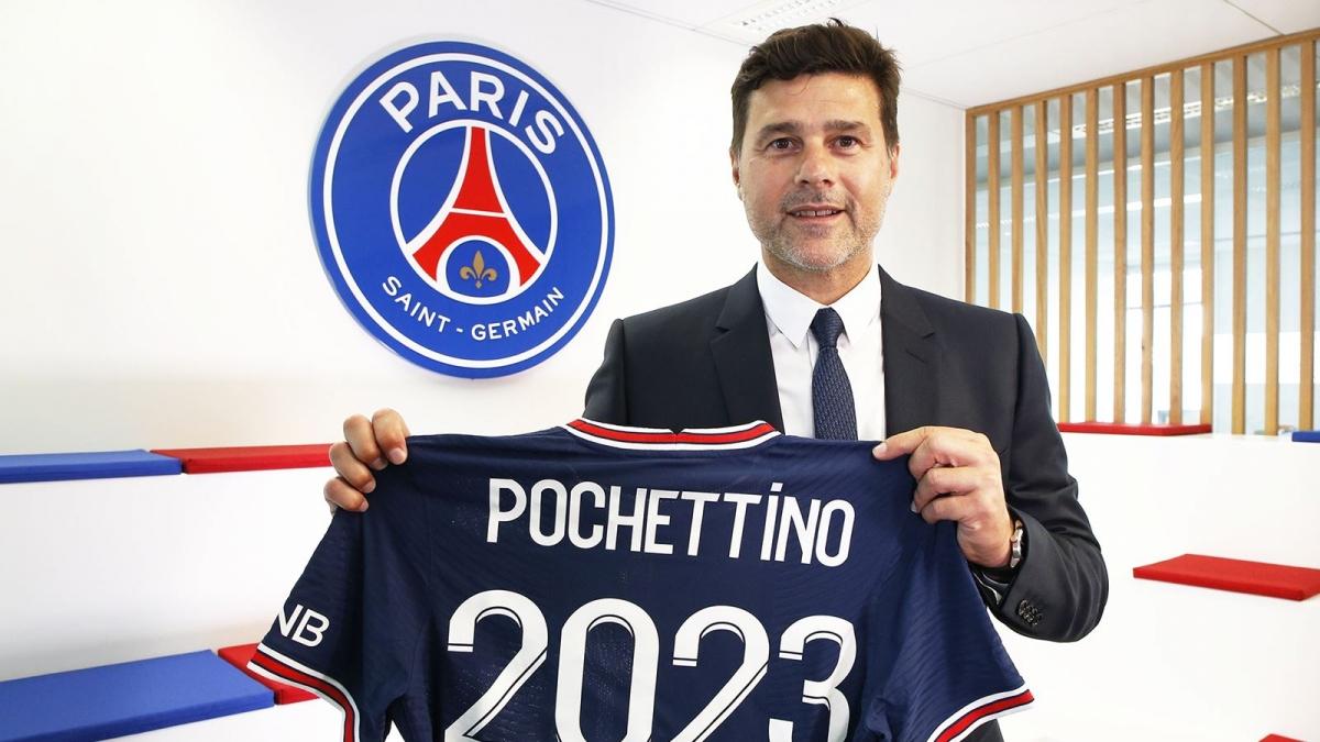 PSG gia hạn hợp đồng với HLV Pochettino (Ảnh: PSG).