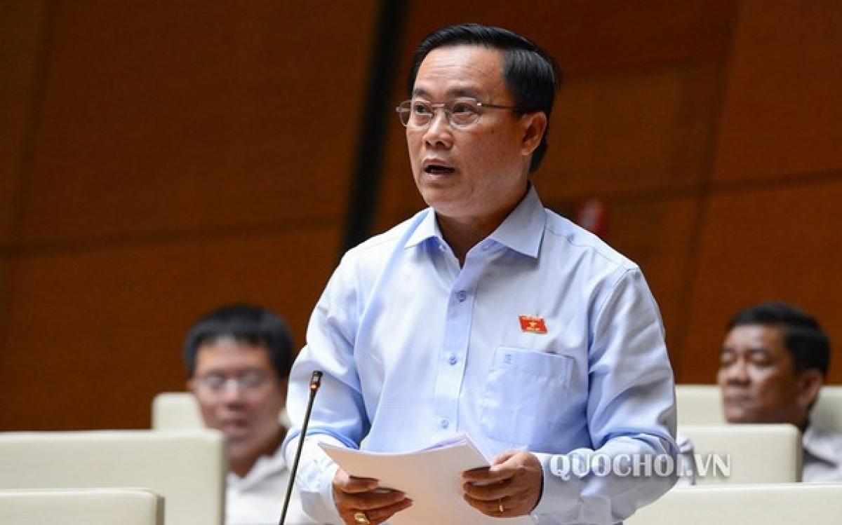 Đại biểu Nguyễn Quốc Hận, đoàn Cà Mau (Ảnh: Quochoi.vn)