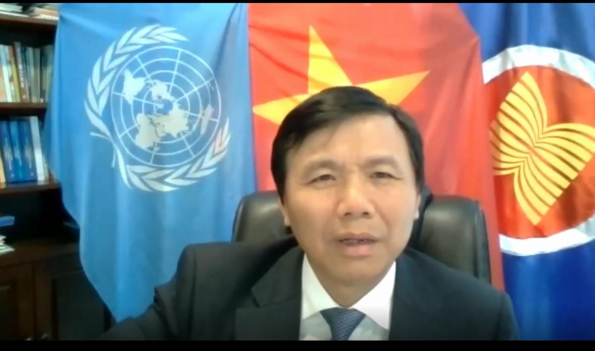 Ambassador Dang Dinh Quy, Permanent Representative of Vietnam to the UN