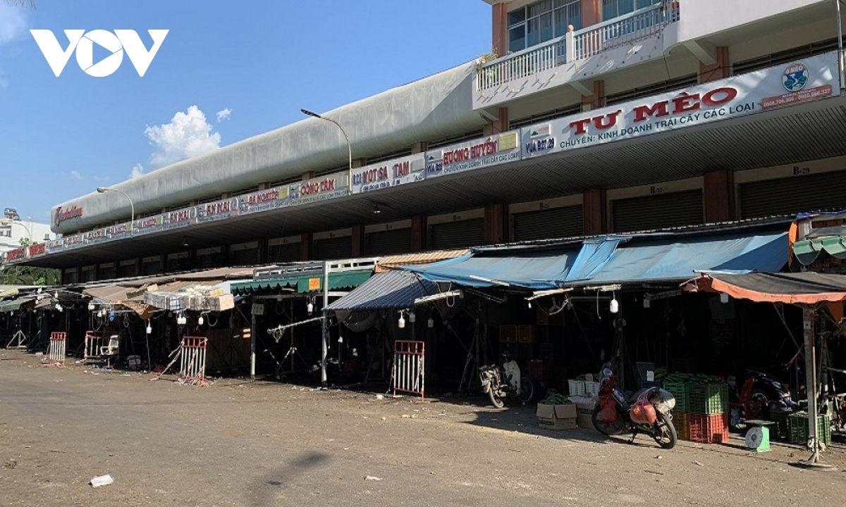 Chợ đầu mối Hóc Môn tạm dừng hoạt động từ 0h ngày 28/6