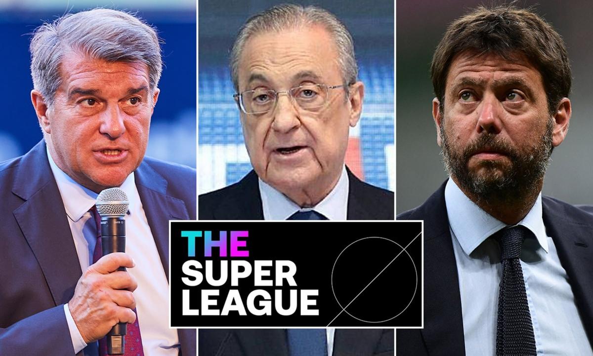 Real Madrid, Barca và Juventus tuyên bố thắng kiện UEFA. (Ảnh: Daily Mail)